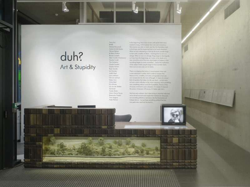 THE BLOCK – Duh? Art & Stupidity at Focal Point. 2015/11/10 – 2016/03/26