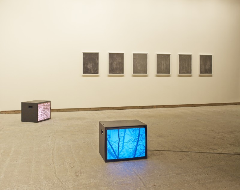 THE BLOCK – Anna Barriball at Frith Street Gallery. 2013/11/08 – 2013/12/21
