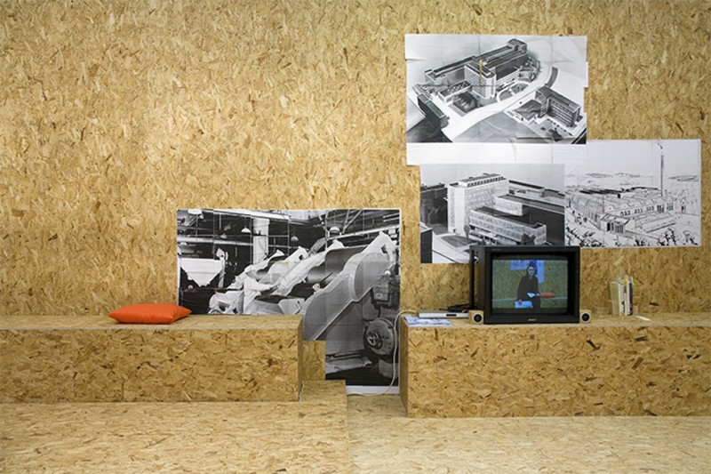 THE BLOCK – Patrick Staff: A Factory As It Might Be at International Project Space. 2013/02/19 – 2013/05/11