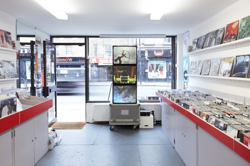 THE BLOCK – John Lawrence: Residency in a Record Store at Flashback Records and PSC. 2015/05/08 – 2015/06/10