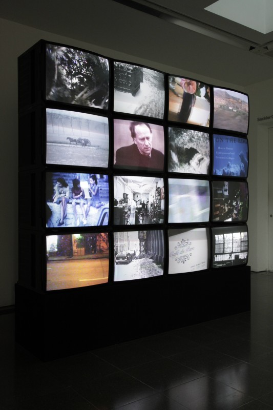 THE BLOCK – Jonas Mekas at Serpentine. 2012/12/05 – 2013/01/27