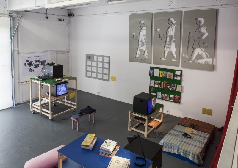 THE BLOCK – The Grand Domestic Revolution GOES ON at The Showroom. 2012/09/21 – 2012/10/27