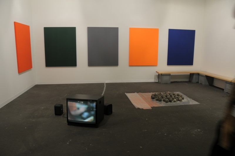 THE BLOCK – Andrea Büttner at Hollybush Gardens Art Statements Art Basel 2011. 2011/06/15 – 2011/06/19