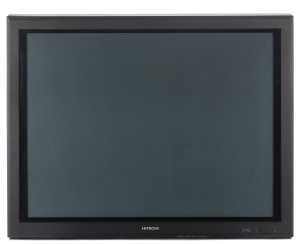 Hitachi 4:3 Flat Screen 37