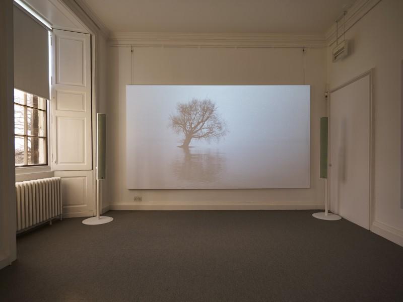 THE BLOCK – James Richards: British Art Show 8 at Inverleith House, Royal Botanic Garden Edinburgh. 2016/02/13 – 2016/05/08