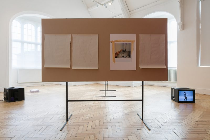 THE BLOCK – Ian White: Any frame is a thrown voice at Camden Arts Centre. 2018/04/19 – 2018/06/24